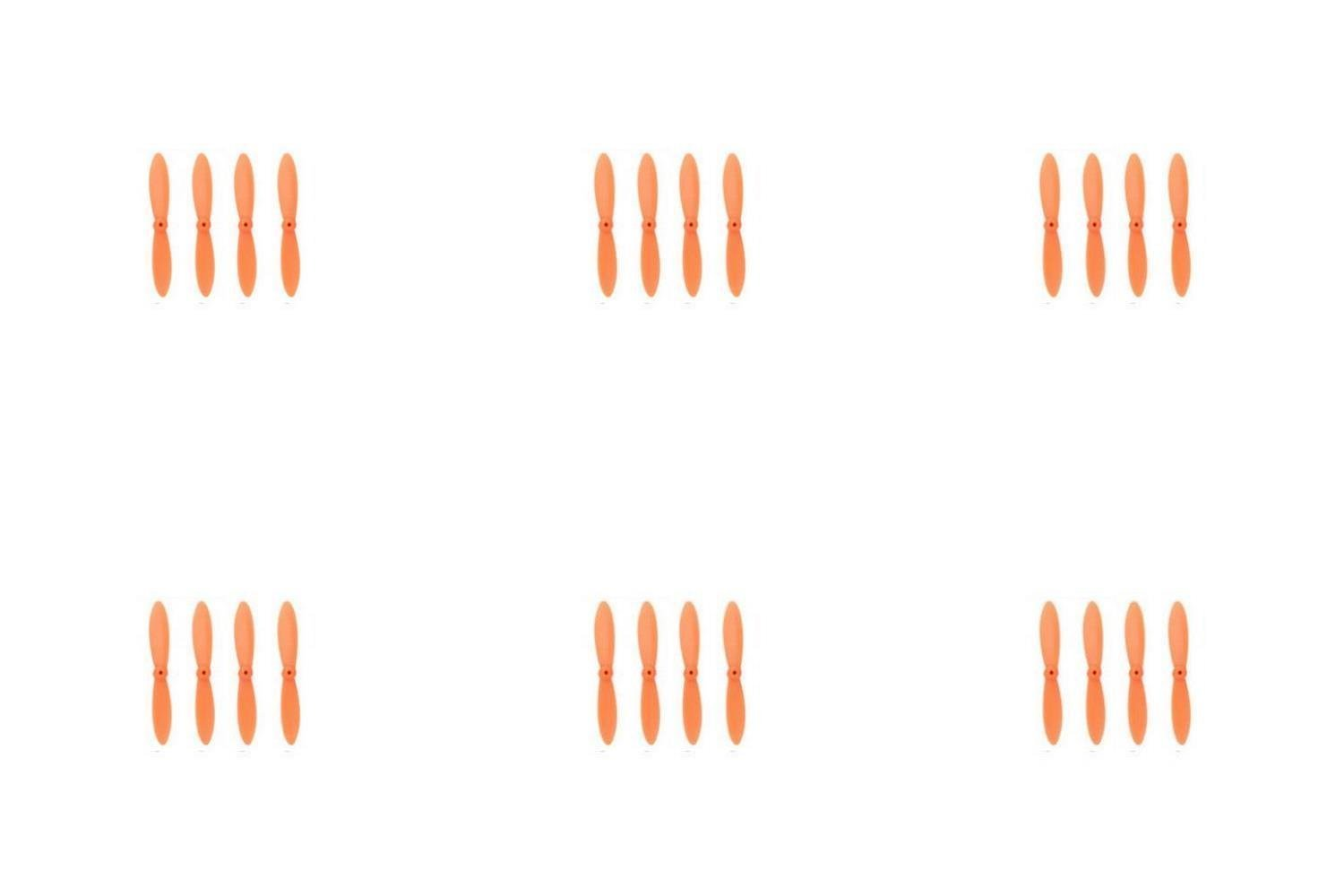 disfrutando de sus compras 6 x x x Quantity of Walkera CX-10A All Orange Nano Quadcopter Propeller blade Set 32mm Propellers Blades Props Quad Drone parts - FAST FROM Orlando, Florida USA  calidad garantizada