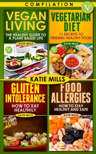Amazon vegan vegetarian gluten intolerance food allergies vegan vegetarian gluten intolerance food allergies bundle series recipe book by mills forumfinder Choice Image