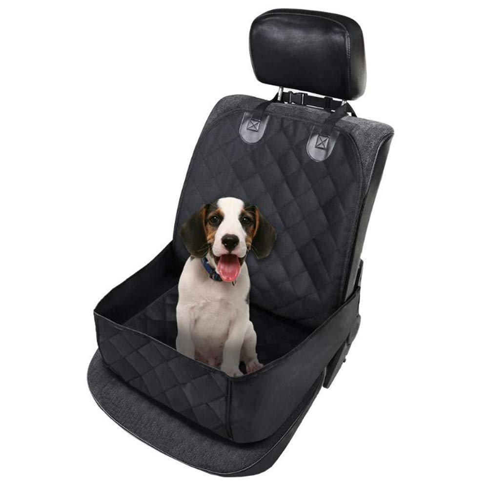 QZQWANA Waterproof Car Seat Cover Oxford Cloth Cotton Dog Pet Front Chair Cushion Mat Puppy Cat Carrying Bag Auto Travel Accessories