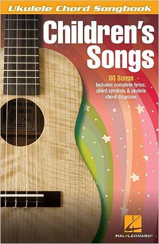 Amazon Childrens Songs Ukulele Chord Songbook 0884088589660