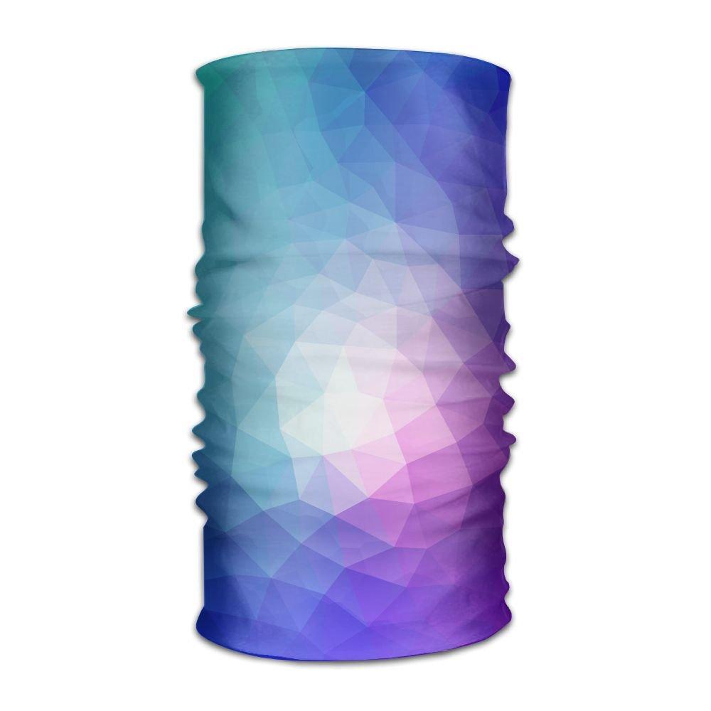 Magic Headwear Colorful Polygon Mirror Art Outdoor Scarf Headbands Bandana Mask Neck Gaiter Head Wrap Mask Sweatband