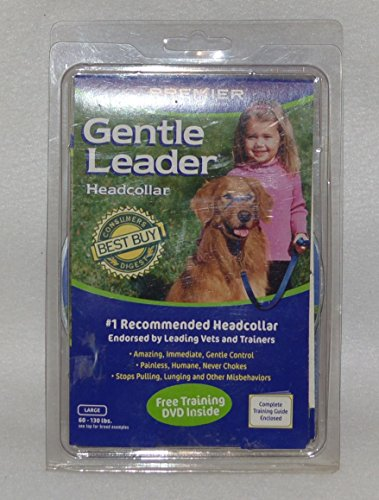 Premier Dog Quick Release GENTLE LEADER HEAD COLLAR Large Royal Blue by Premier