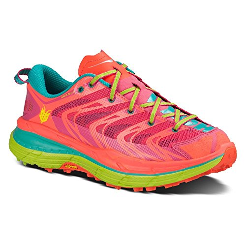 Price comparison product image Hoka One One Women's Speedgoat Shoe (8, Neon Coral)