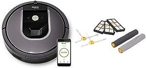 iRobot Roomba 960 Robot Vacuum with Roomba 800 and 900 Series Replenishment Kit