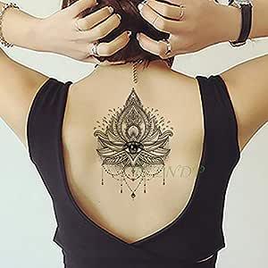 Handaxian 3 Piezas Etiqueta de Tatuaje a Prueba de Agua Rose ...