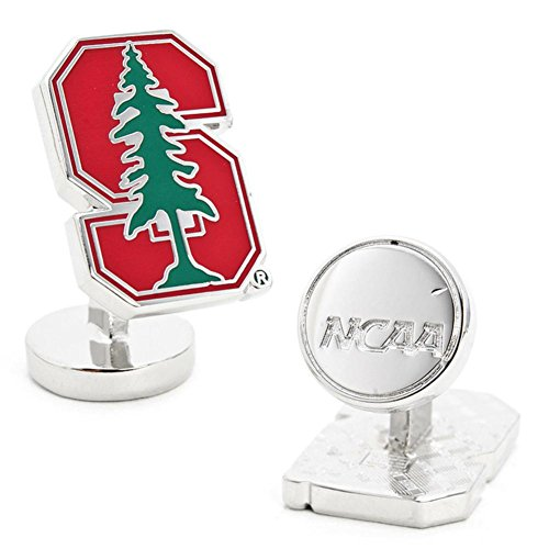 Palladium Stanford University Cufflinks with New Collectible Gift Box by NCAA