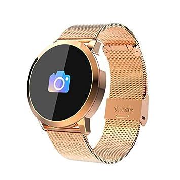 ETbotu Yiwa - Pulsera Inteligente de Reloj Inteligente con Pantalla de Color OLED, Reloj Inteligente, Monitor de Ritmo cardíaco