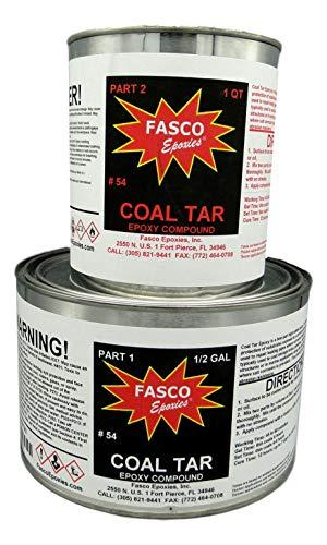 (Fasco #54 - Coal Tar Epoxy - 3 Quart Kit )