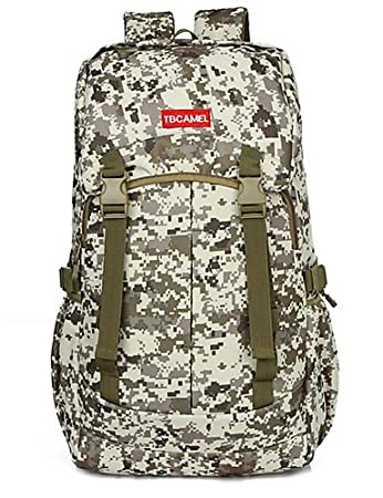 AWSAYS 7 L Zaini da Escursionismo/Zaino Campeggio e Hiking All'aperto Multifunzione Marrone Nylon Other, Khaki
