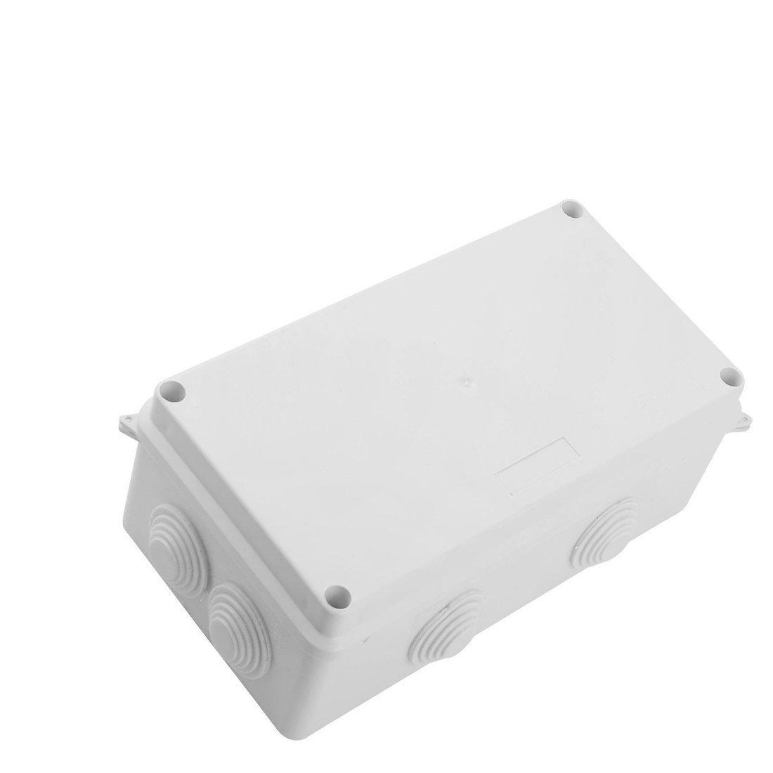 Saim ABS IP65//étanche 26/mm 8/entr/ées de c/âble Blanc Bo/îte de jonction 200/x 100/x 70/mm