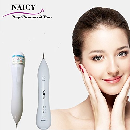 Price comparison product image NAICY Spot Removal Pen Mole Tattoo Remover Pen For Tag Nevus Freckles Dark Spot Birth Mark Skin Pigmentation Age Spots beauty Skin Machine