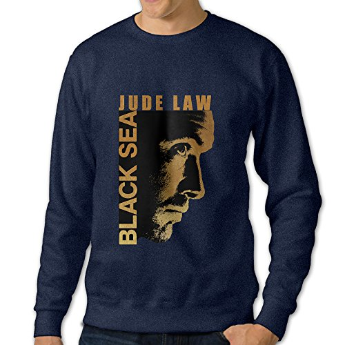 Bekey Men's Insidious Sea Poster Hoodie Jacket Size XXL Navy