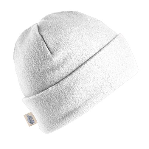 Turtle Fur Original Turtle Fur Fleece The Hat, Heavyweight Fleece Watch Cap Beanie, White (Beanie Classic White)