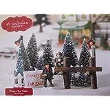 Amazon.com: Lemax Village Collection St. Nicholas\'s Tree Lot # 33001 ...