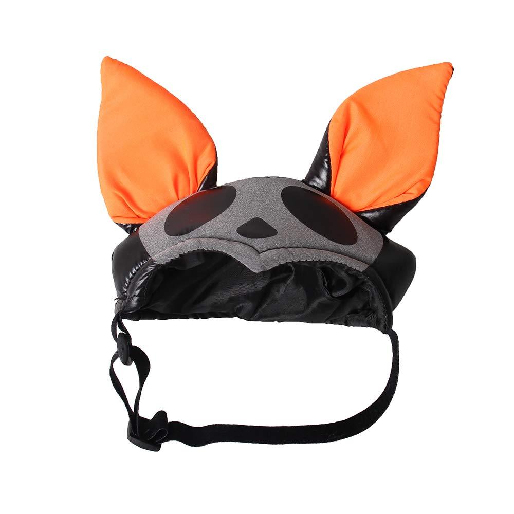 Bat Pattern-M Ushero Pet Halloween Hat Costumes Soft Comfortable Pet Apparel Dress up Cap Party Decoration Dogs Cats Supplies (Bat Pattern-M)