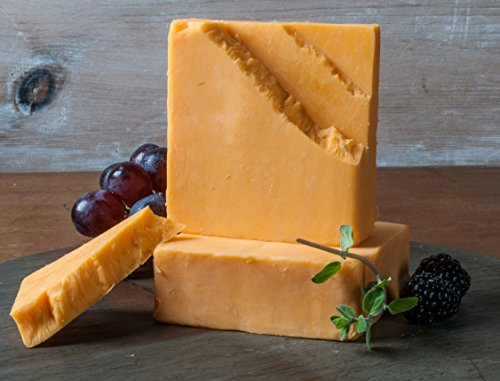 Double Gloucester-Style Cheese Cheddar Cheese Style- Golden Age Wisconsin Cheeses from Harmony Dairy