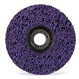 "2pcs 5"" 125mm Poly Strip Disc Wheel Paint Rust"
