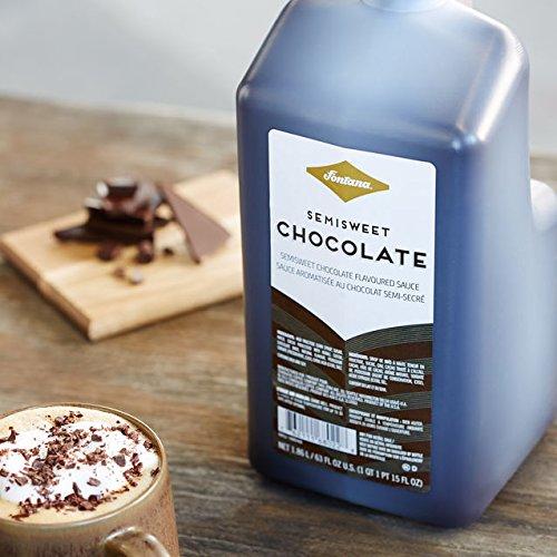 Fontana(™) Semi-Sweet Chocolate Mocha Sauce, 63 fl oz