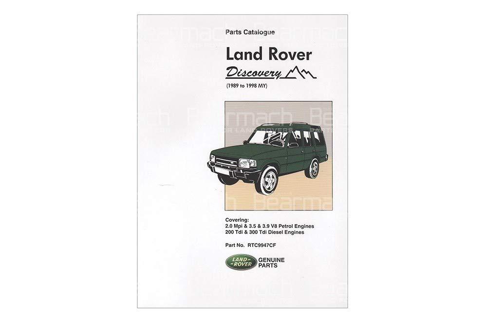 BEARMACH OEM - Parts Catalogue - Discovery 1 Part# RTC9947C