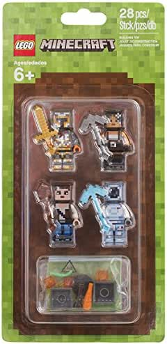 Mua Lego Minecraft minifigures trên Amazon giá bao nhiêu tiền | Fado.vn