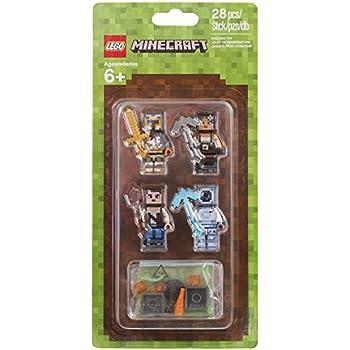 amazon com lego minecraft minecraft skin pack 2 853610 buildinig