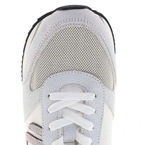 Mujer Fashion Blanco FB Tobillo bajo Boots de Piel xZ4x8vFwq