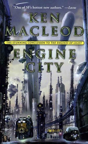 book cover of Engine City
