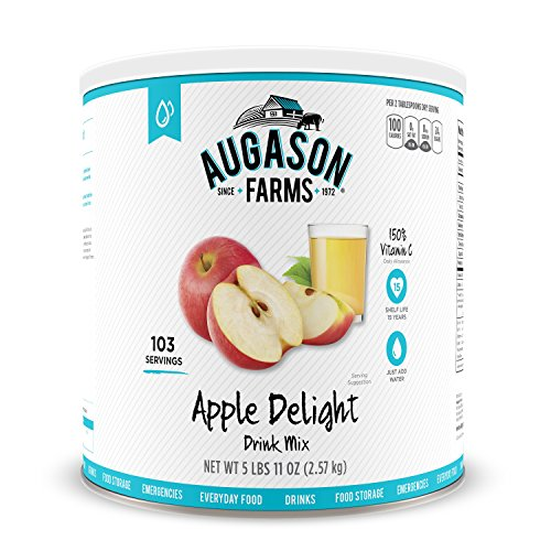 Augason Farms Apple Delight Drink Mix 5 lbs 11 oz No. 10 Can