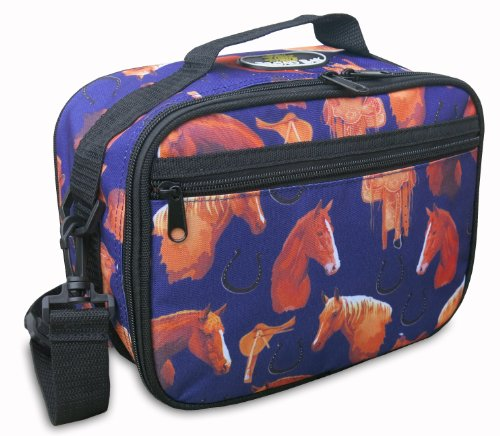 Horse Lunchbox DELUXE BROAD BAY Horse Lunch Bag Cooler TOP ()