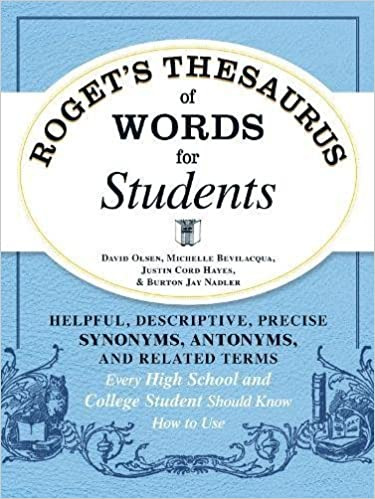 Amazon rogets thesaurus of words for students helpful amazon rogets thesaurus of words for students helpful descriptive precise synonyms antonyms and related terms every high school and college m4hsunfo