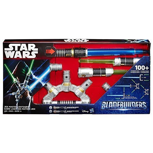 Star Wars Blade Builders Jedi Master Lightsaber 100+ Combination Pack of 1 ()