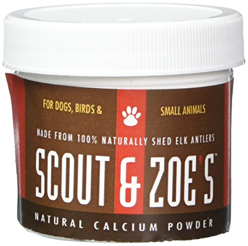Scout and Zoe's Small Calcium Powder for Pets, 1.5 oz
