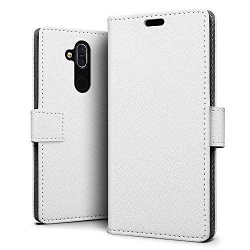 Nokia 8.1 / X7 Case - SLEO Luxury Slim PU Leather...