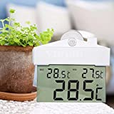 NEW!! Digital Display Window Thermometer Read C/F Indoor Outdoor With Suction Cup