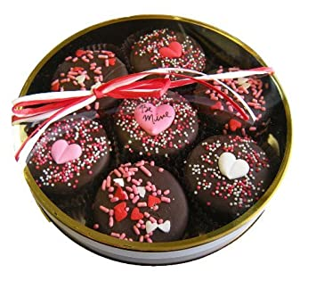 Chocolate Dipped Oreo Cookies Decorated Be Mine 7 Oreo Assortment For Valent