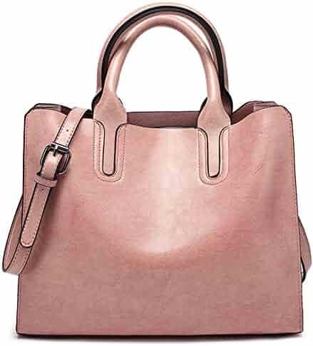 968e371214f7 FiveloveTwo Womens Ladies Handbags and Purses Top-handle Satchel Hobo  Crossbody Totes Shoulder Bags