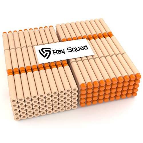 Ray Squad 300 Orange Nerf Compatible Darts by Darts for Nerf N-Strike Elite Series Blasters
