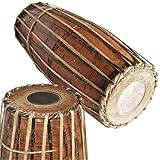 Red VRINDAVANBAZAAR.COM Clay Mridangam Drum