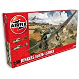 Airfix - Kit de modelismo, avión Junkers Ju87B Stuka (Hornby A07114)