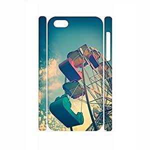 Exciting Sky Wheel Design Durable Hard Plastic Phone Case Cover for Iphone 5c