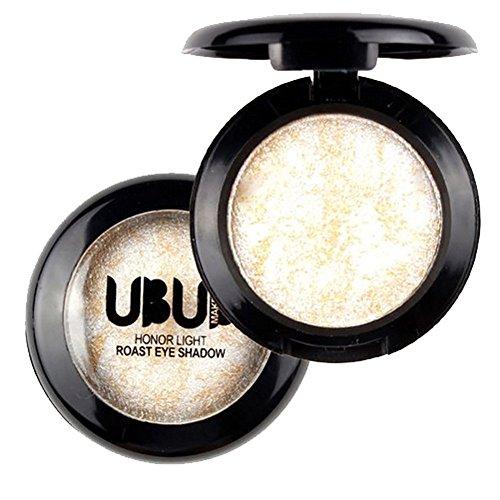 ❤️ Sunbona Clearance Sale Single Baked Eye Shadow Powder Palette Shimmer Metallic Waterproof Eyeshadow Palette (A)