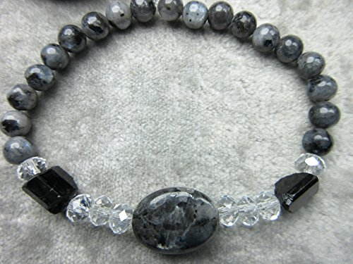 genuine-larvikite-and-black-tourmaline-healing-bracelet-protection-lucid-dreaming