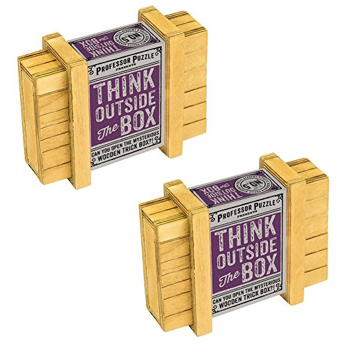 Johnson Smith Co. (Set/2) Professor Puzzles - Think Outside The Box - for Critical Thinkers ()