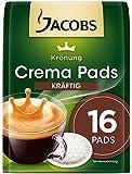 Jacobs Krönung Crema Kräftig, 16 Kaffee Pads, 5er Pack (5 x 105 g)