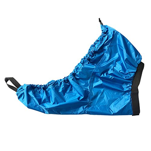 DYNWAVE Waterproof Kayak Sprayskirt Spray Deck for Touring/Sea/Recreational Kayaking - Blue, M