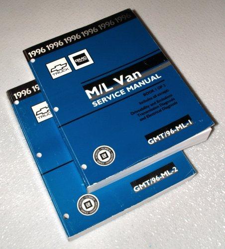 1996 GMC Chevrolet M/L Van Service Manuals (Chevy Astro Van, GMC Safari, 2 Volume Set)