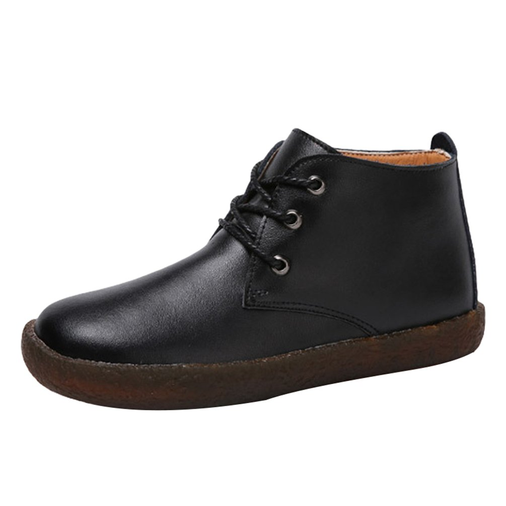 Yiiquan Femme Loisirs Low-Top Chaussures Cuir PU Yiiquan B00M57WPUO Doux Antidérapant Bateau Chaussures Flats Lacets Chaussures Noir # 2 4644e2c - fast-weightloss-diet.space