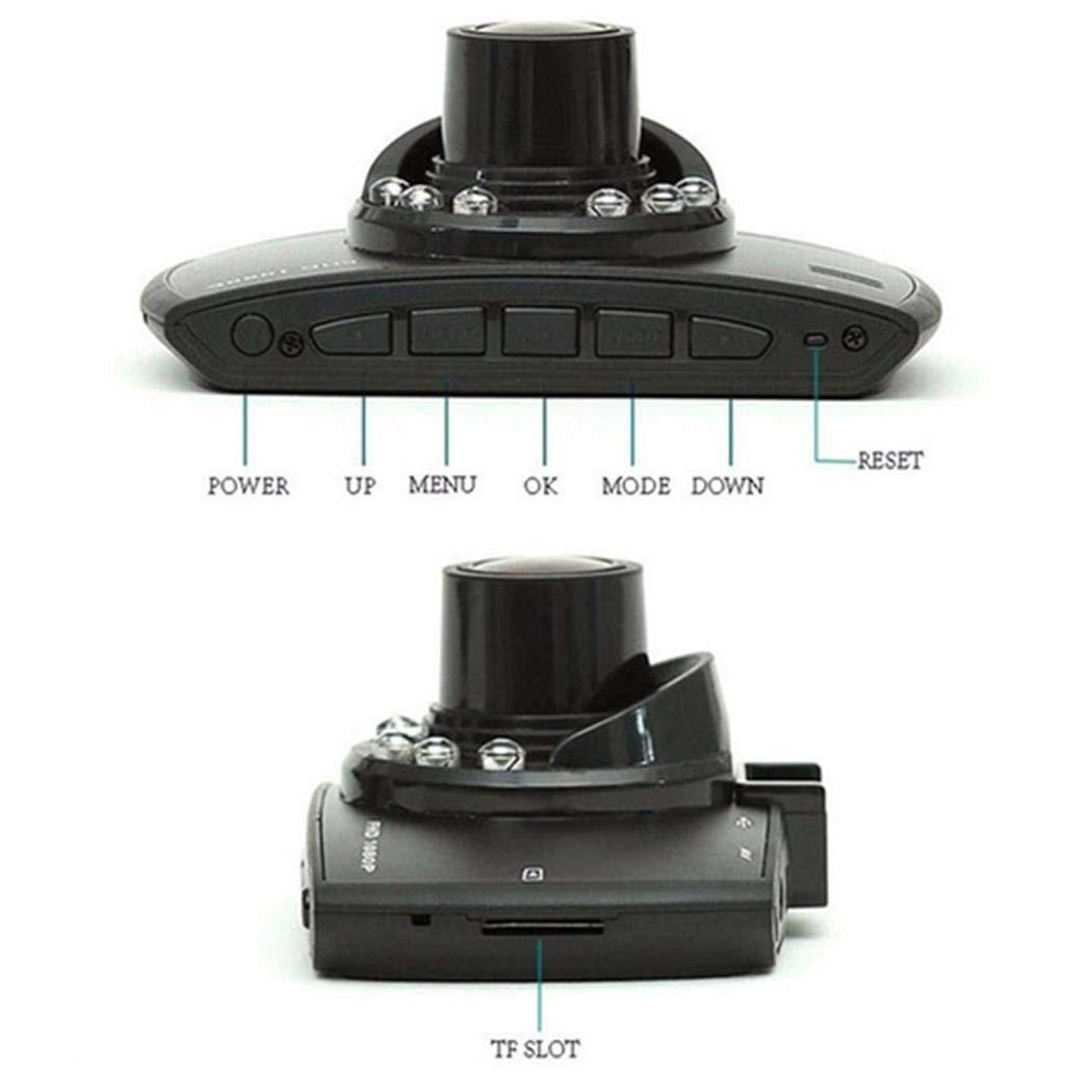 Sisaki Langlebig praktische hd LCD Display weitwinkelobjektiv Auto Fahren Recorder Rückspiegel-Videogeräte
