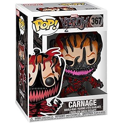 Funko Pop Marvel: Venom - Carnage Cletus Kasady Collectible Figure, Multicolor: Toys & Games