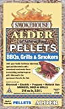 Smokehouse Products 9780-020-0000 5-Pound Bag All Natural Alder Flavored Wood Pellets, Bulk